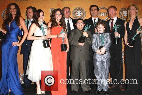 Cast of Modern Family The 17th Annual Screen...