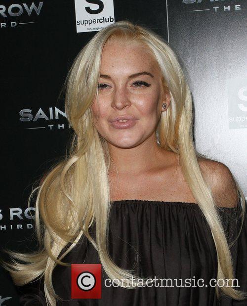 Lindsay Lohan Saints Row: The Third concert and...