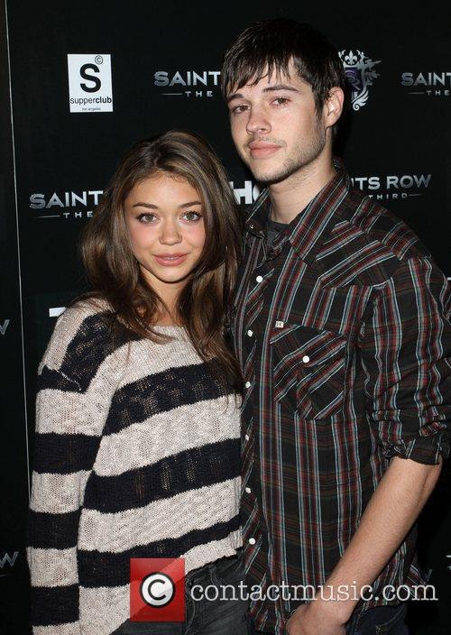 Sarah Hyland and Matt Prokop Saints Row: The...