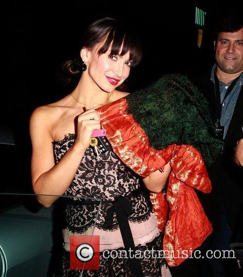 karina smirnoff celebrities wearing exclusively in scarves 5738908