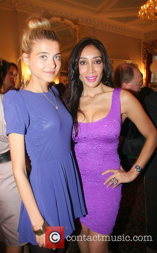Sally Farmiloe celebrates her birthday with a Bollywood...