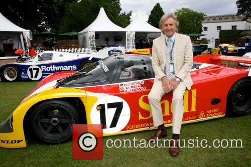 Derek Bell at the last day of the...