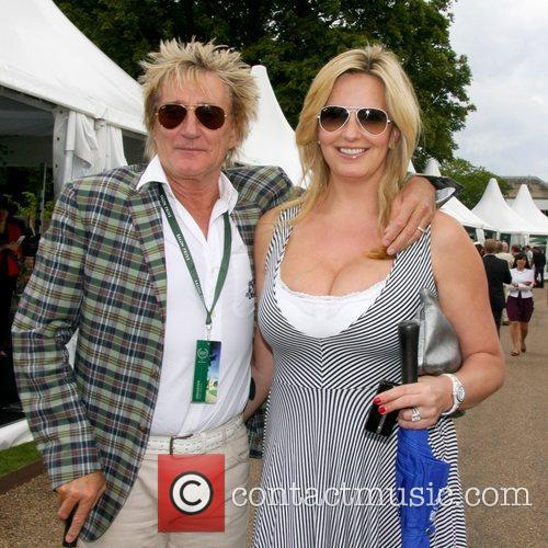 Rod Stewart and Penny Lancaster  at the...