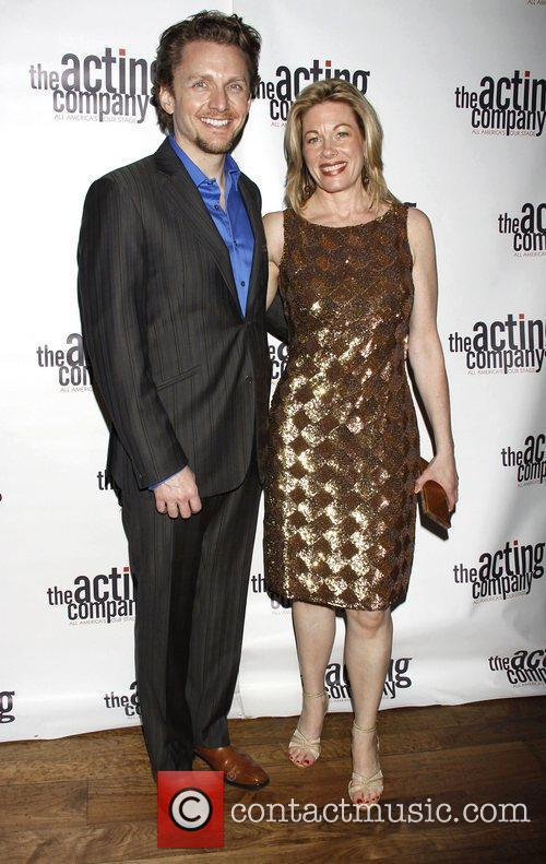 Jason Danieley and Marin Mazzie The After Party...