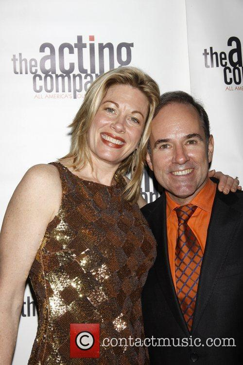 Marin Mazzie and Stephen Flaherty The After Party...