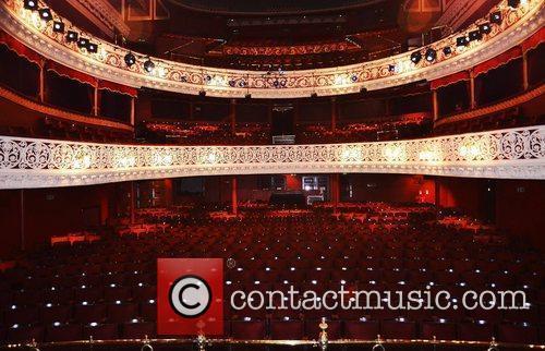 Atmosphere The Gaiety Theatre interior Dublin, Ireland