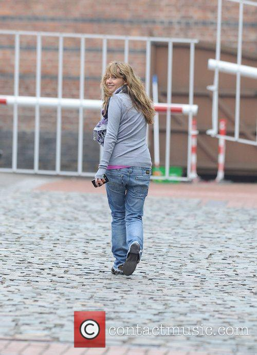 Samia Smith heads back to the 'Coronation Street'...