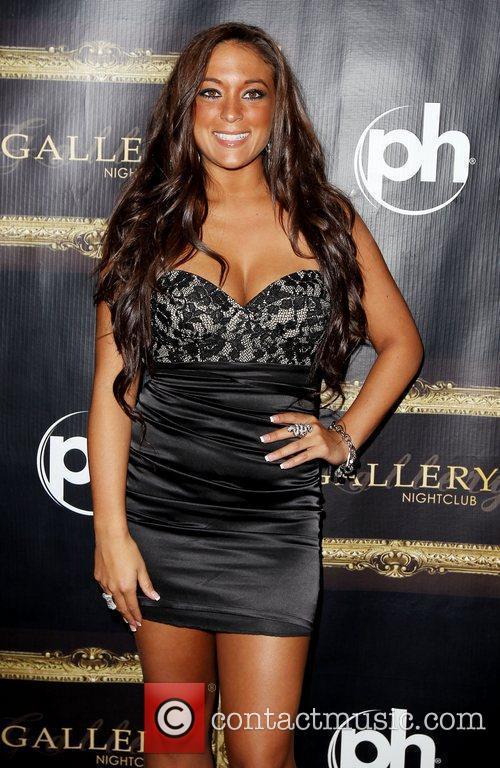 Jersey Shore star Sammi 'Sweetheart' Giancola walks the...