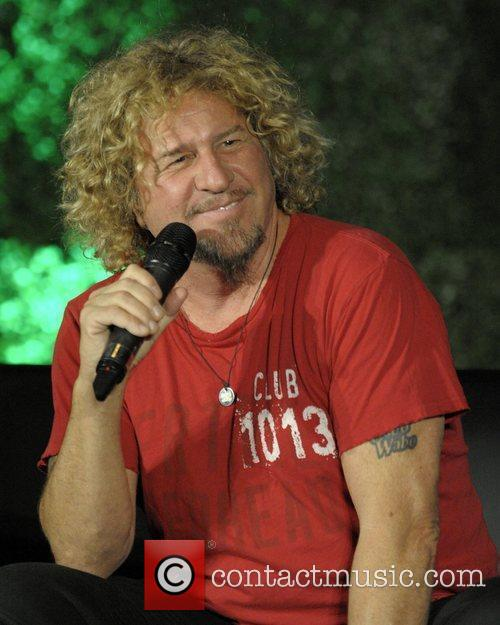 Sammy Hagar  Celebrity Interview session at the...