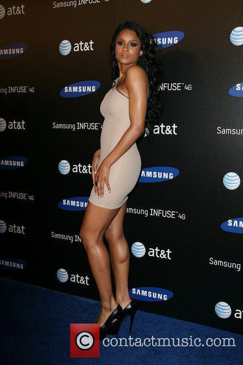Ciara Samsung Infuse 4G For AT&T launch event...