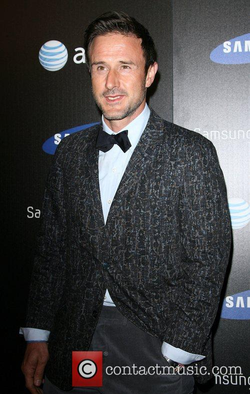 David Arquette Samsung Infuse 4G For AT&T launch...