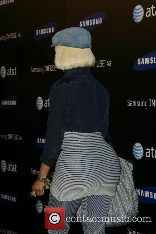 Nicki Minaj Samsung Infuse 4G For AT&T Launch...