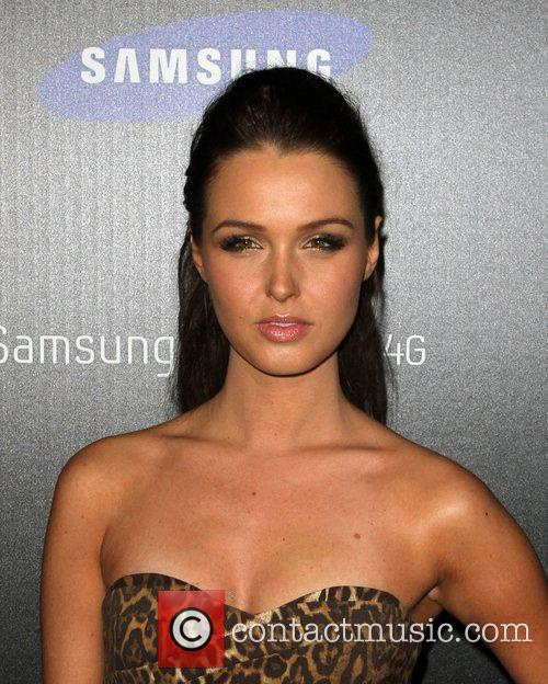 Camilla Luddington Samsung Infuse 4G For AT&T launch...