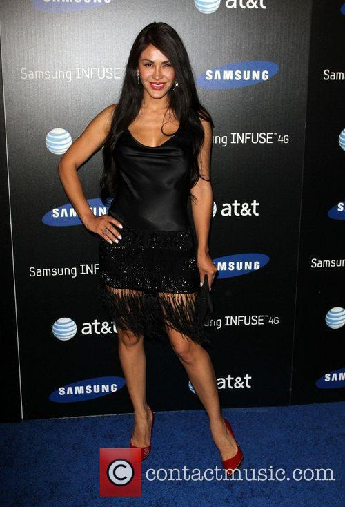 Carla Ortiz Samsung Infuse 4G For AT&T launch...