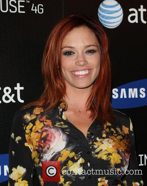 Jessica Sutta Samsung Infuse 4G For AT&T launch...