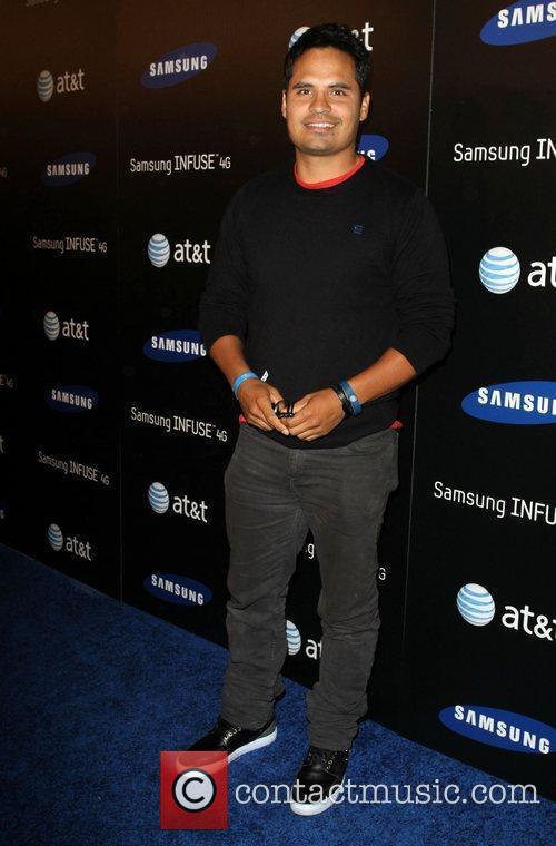 Michael Pena Samsung Infuse 4G For AT&T launch...