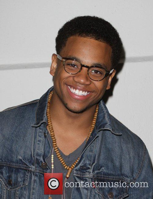 Tristan Wilds Samsung Infuse 4G For AT&T launch...