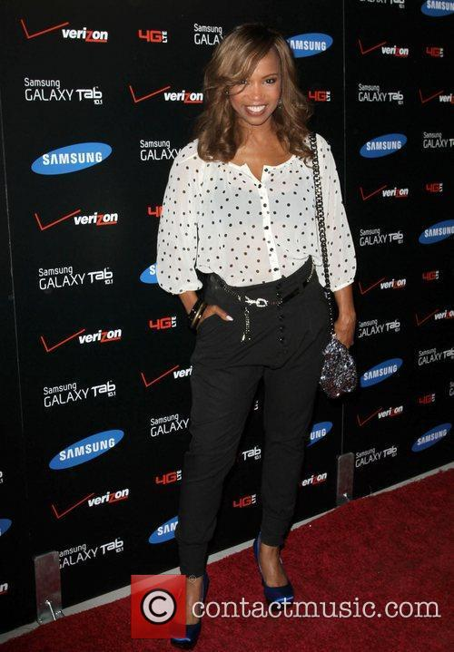 Elise Neal Samsung Galaxy Tab 10.1 Launch Event...