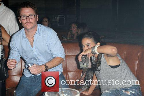Kevin Connolly and Emmanuelle Chriqui Samsung Galaxy Tab...