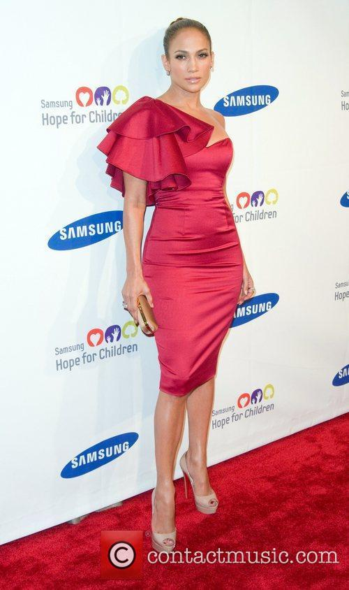 Jennifer Lopez 2011 Samsung Hope For Children Benefit...