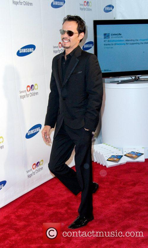 Marc Anthony 2011 Samsung Hope For Children Benefit...