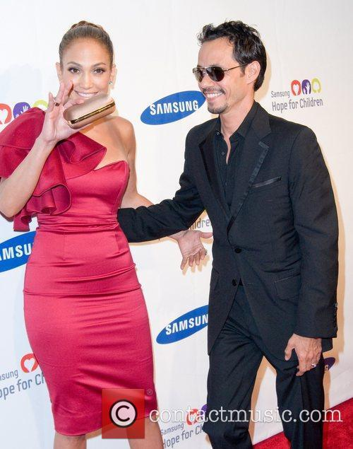 Jennier Lopez and Marc Anthony 2011 Samsung Hope...