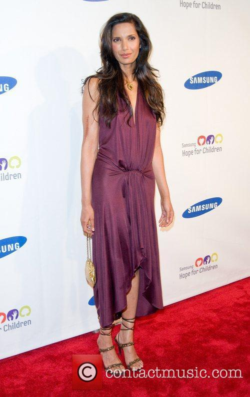 Padma Lakshmi 2011 Samsung Hope For Children Benefit...
