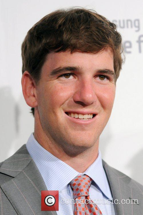 Eli Manning 2011 Samsung Hope For Children Benefit...