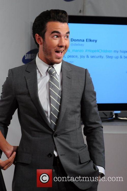 Kevin Jonas 2011 Samsung Hope For Children Benefit...