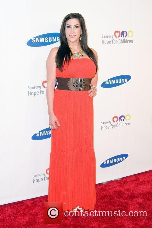 Jacqueline Laurita 2011 Samsung Hope For Children Benefit...