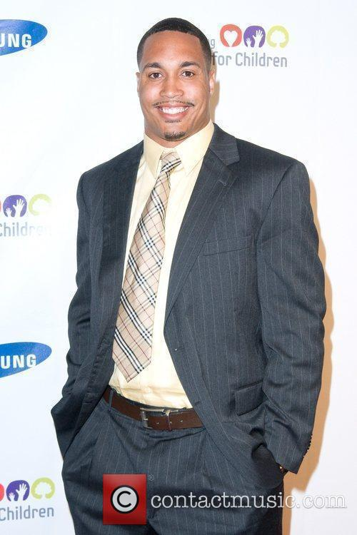 Travis Beckum 2011 Samsung Hope For Children Benefit...