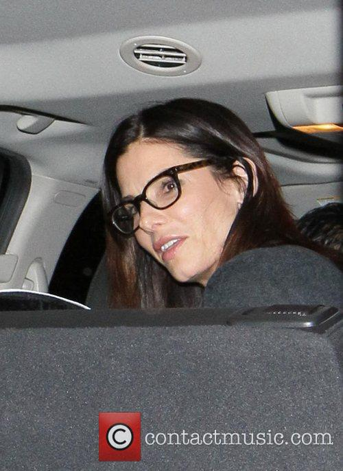 Sandra Bullock gets picked up at LAX