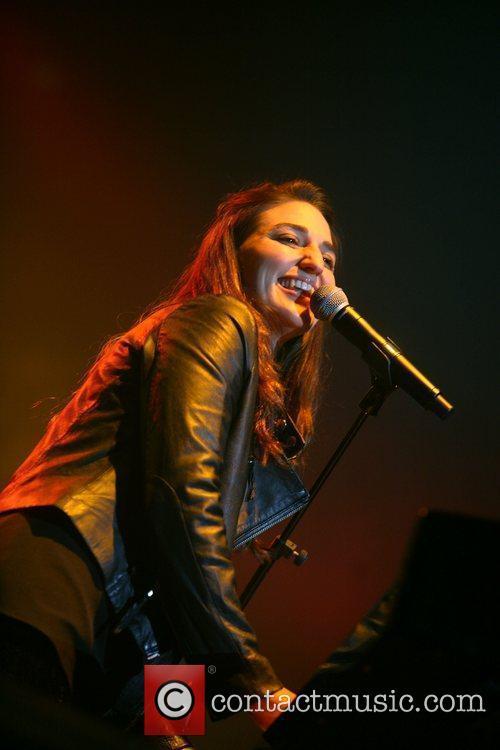 Sara Bareilles performing at the Heineken Music Hall...