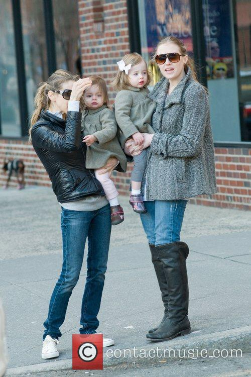 Sarah Jessica Parker out and about in Manhattan...