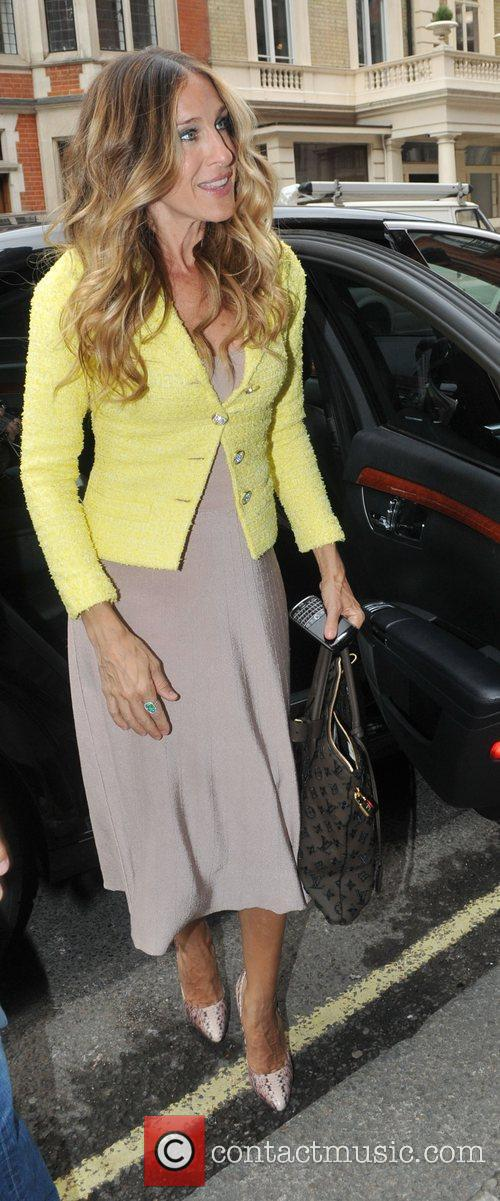 Sarah Jessica Parker arriving at Claridges hotel London,...