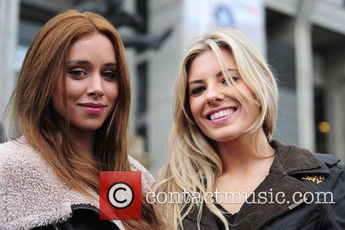 Una Healy, Mollie King and The Saturdays 2
