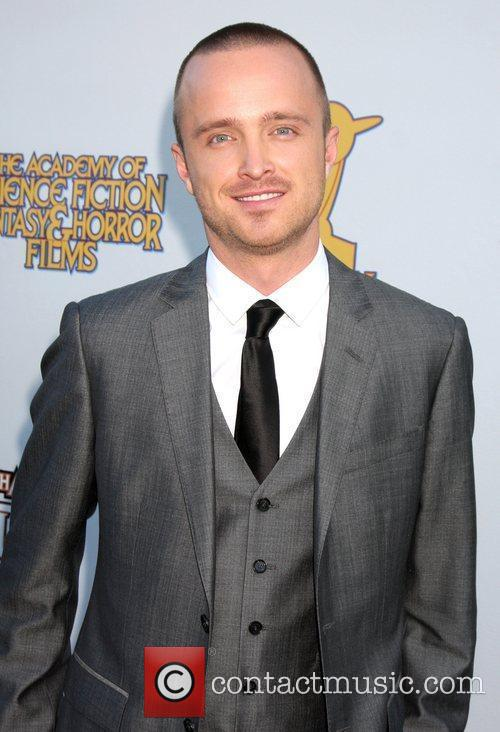 Aaron Paul The 2011 Saturn Awards at the...