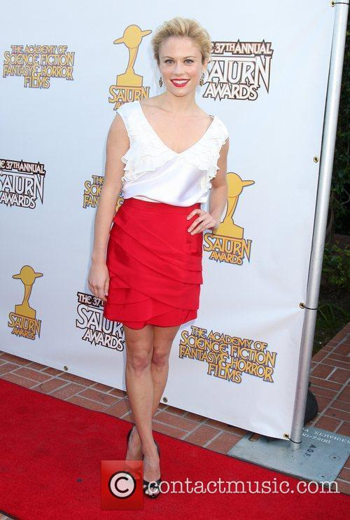 Claire Coffee The 2011 Saturn Awards at the...