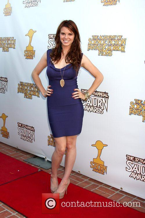 Catherine Annett The 2011 Saturn Awards at the...