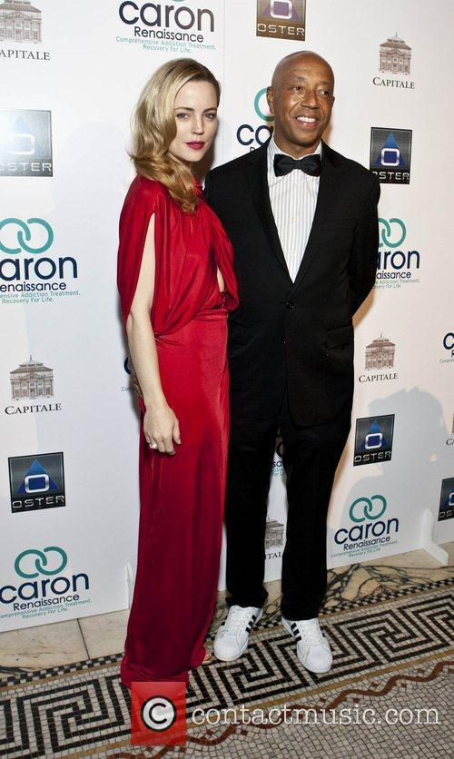 Melissa George and Russell Simmons 4