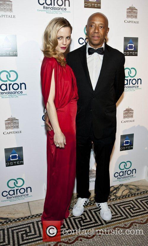 Melissa George and Russell Simmons 3