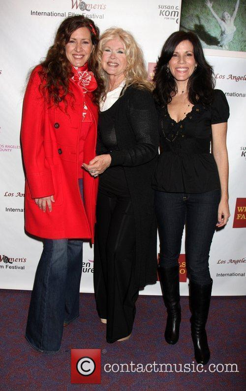 Joely Fisher, Connie Stevens, Tricia Leigh FIsher arriving...