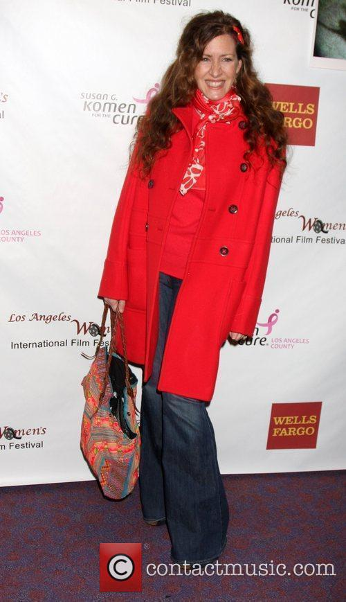 Joely Fisher arriving at the 'Saving Grace B....