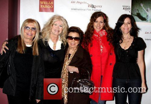Nancy Sinatra, Connie Stevens, Joely Fisher and Tricia Leigh Fisher 1