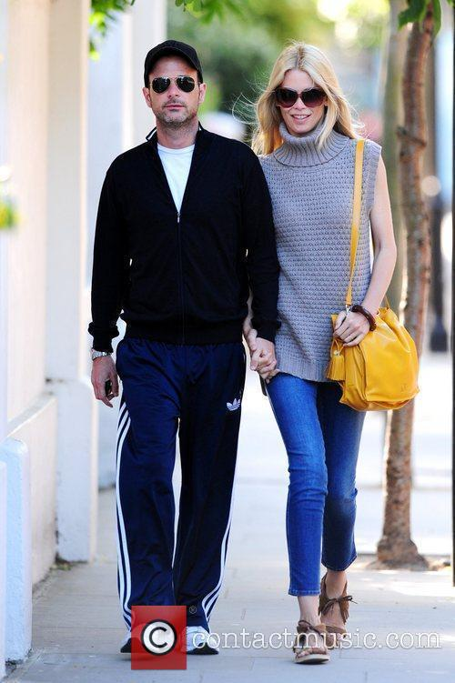 Claudia Schiffer and Matthew Vaughn 2