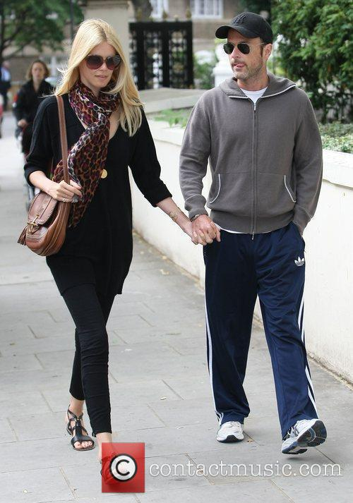 Claudia Schiffer and Matthew Vaughn 11