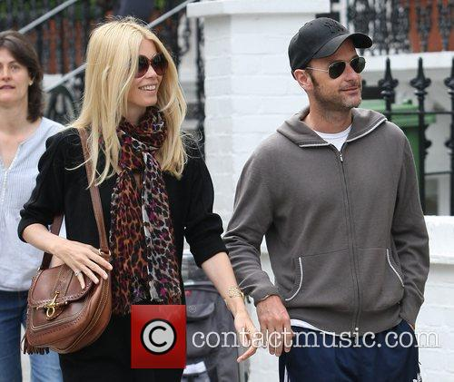 Claudia Schiffer and Matthew Vaughn 9