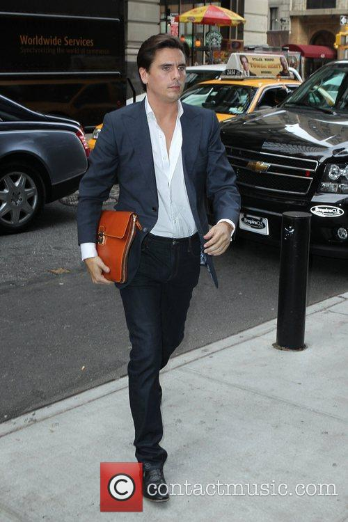 Scott Disick arrives at his Manhattan Hotel New...