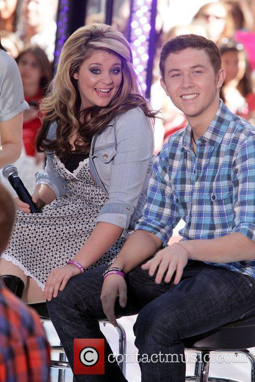 American Idol, Lauren Alaina and Scotty Mccreery 2