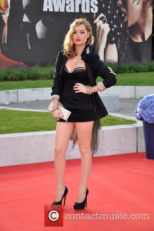 Laura Whitmore Scottish Fashion Awards 2011 - Arrivals...